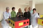 Liečiama paroda Klaipėdos jūrininkų ligoninėje