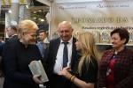 Šalies Prezidentės dėmesys Gražiausiai metų knygai SPARNUOTOSIOS RAIDĖS