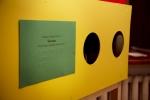 Parodos atidaryme menininkė Nomeda Marčėnaitė kvietė į vaikų kūrybą pažvelgti kitomis akimis